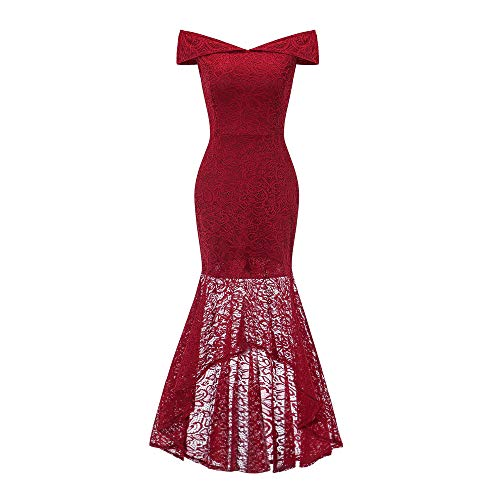 ReooLy zubehör grüne elegant Abendkleid v Ausschnitt hellblau pompöses dunkelgrün neu rote Abendkleider Abendkleid kurz rot 48/54 meerjungfrau rosa Damen enges hi-lo Mint trägerlos Leder (Prinzessin Braut Ein Rotes Kleid Kostüm)