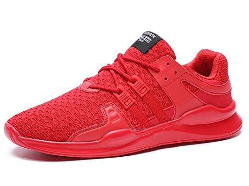 10 Cushion Laufschuh (ONENICE Herren Schuhe Breathable Sportschuhe Leicht Turnschuhe Gute Qualität Sneaker mit Cushion Mid-Top Laufschuhe 6.5UK)
