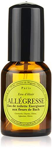 Elixirs & Co Eau d'Elixir Allégresse Eau de toilette Energisante aux Fleurs de Bach BIO 30 ml