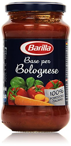 Barilla Pastasauce Base per Bolognese   Saucenbasis 1 Glas (1x400g) (Kräuter-geschmack Natürliche)