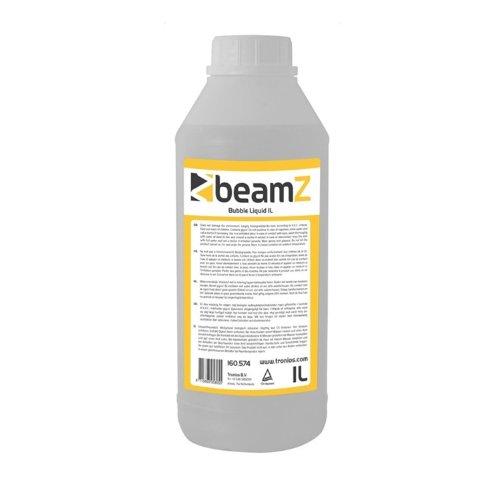 Preisvergleich Produktbild Beamz Bubble Seifenblasen-Fluid 1l Seifenblasen Flüssigkeit (1-Liter-Flasche, für Seifenblasenmaschinen, Umweltfreundlich und unschädlich)