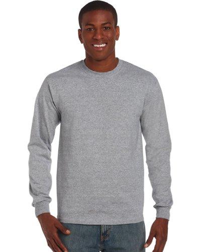 Preisvergleich Produktbild Ultra Cotton Classic Fit Adult T-Shirt - Farbe: Sport Grey - Größe: XL