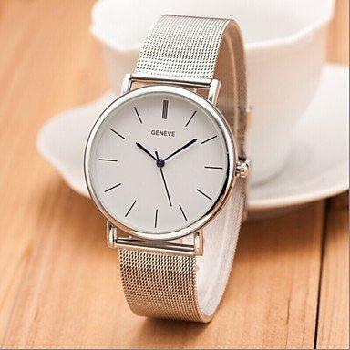 Nueva-plata-famosa-marca-las-mujeres-del-reloj-de-cuarzo-ocasional-ginebra-relojes-de-vestir-de-acero-inoxidable-de-malla-de-metal-RELOGIO