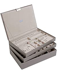 Stackers Mink Supersize Jewellery Box - Set of 3
