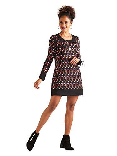 YUMI Damen Kleid Gr. 36, Multi Yumi Fashion