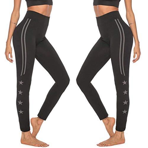 UFACE Taille Strumpfhosen Sporthosen, LeeMon Women Digital Squid Printing Fitness Laufen Hohe Taille Enge Unterhose