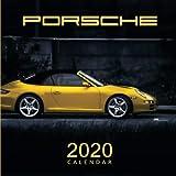 2020 Calendar Porsche: Monthly Calendar with USA Holidays&Observances, Full Color Photos, Supercars Calendar, Automobile Calendar...