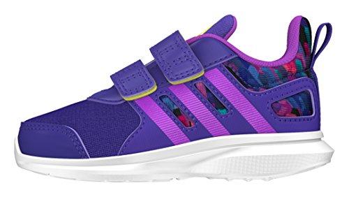 adidas Baby Jungen Hyperfast 2.0 CF I Sneaker, Violett (Puruni/Pursho/Limsho), 21 EU