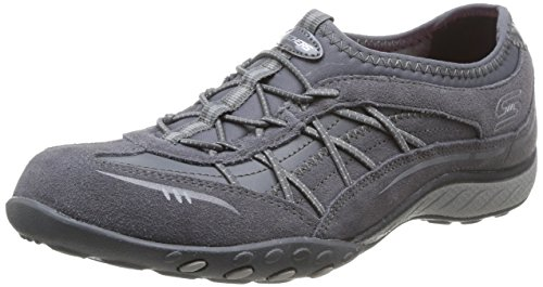 Skechers Breathe-Easy City Lights, Damen Sneakers, Grau (CCL), 36 EU