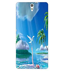 ColourCraft Lovely Image Design Back Case Cover for SONY XPERIA C5 ULTRA DUAL