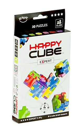 HAPPY 1020 Expert Cardboardbox, 3D-Puzzle, 6er Pack