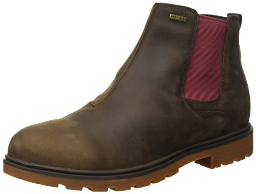 Geox Herren U Akim B Abx C Chelsea Boots, Braun (CHESTNUTC6004), 42 EU