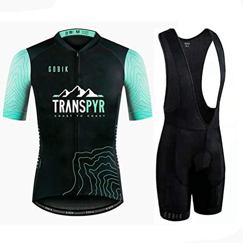 Hombres Ciclismo Jerseys Sets Camisa rápida Dry Wicking compresión Transpirable Ciclismo Ropa...