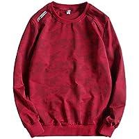 CAI&HONG-GUO GCH Cuello Redondo, suéter, suéter, Ropa de Hombre, Personalidad Suelta, C, 6XL