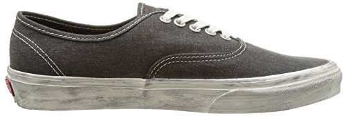 Vans U Authentic Overwashed Sneakers, Unisex Nero (overwashed/black)