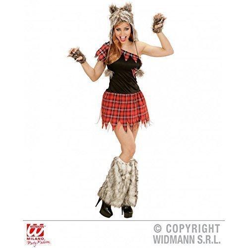 Kostüm Werwolf Lady im zerrissenen Kleid Gr. L = 42 (Werwolf Kostüm Frau)