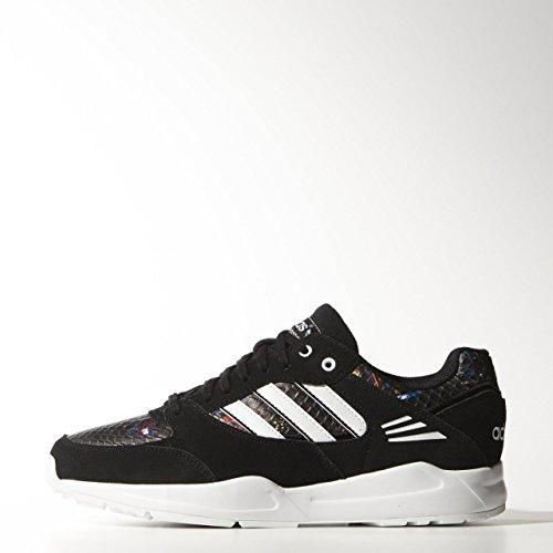 adidas Originals Tech Super, Low-Top Sneaker femme Noir