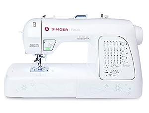 Singer Futura XL420 - Máquina de coser y bordar, color blanco de Singer