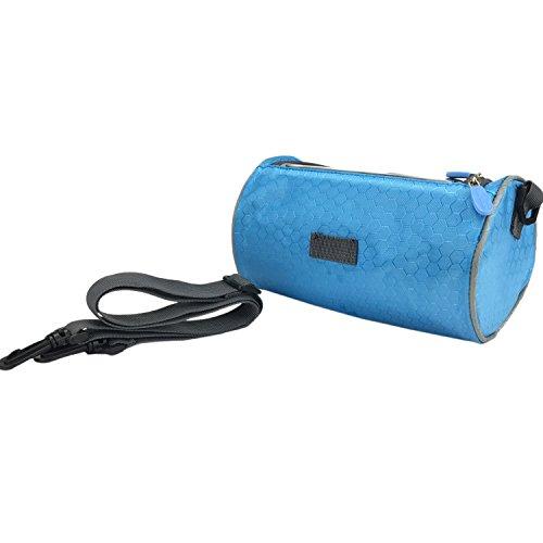 Tourbon Fahrrad Front Lenkertasche Korb Tasche für Karte Blau blau