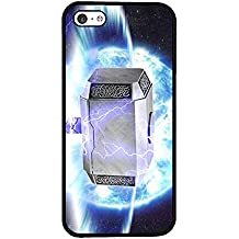 Marvel Iphone 5c Funda Case - Thor Hammer Durable Snap On Anti Scratch for Iphone 5c