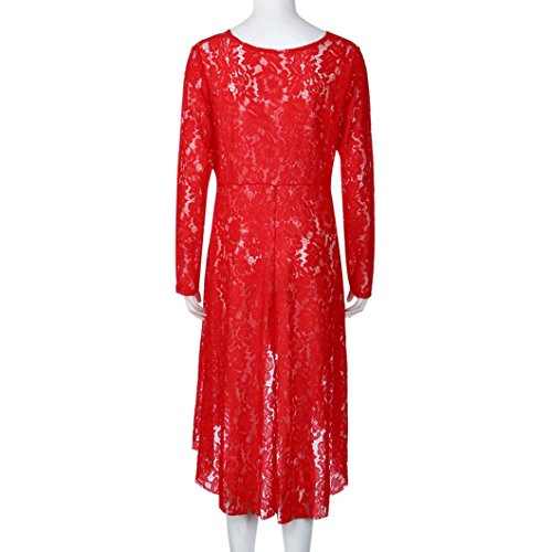 HLHN Maglia a manica lunga - Donna Red