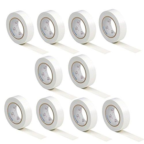 10-rotoli-vde-nastro-isolante-elettrico-pvc-nastro-adesivo-15mm-x-10m-din-en-60454-3-1-colore-bianco