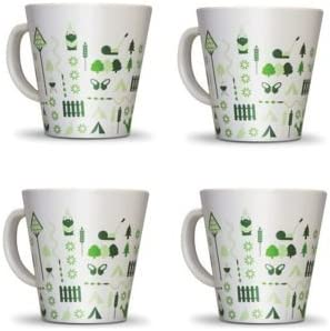 Bewdley Hill-Set tazze in melamina, confezione da 4. 4. 4. | Moda moderna ed elegante  | Lascia che i nostri beni escano nel mondo  dc663d