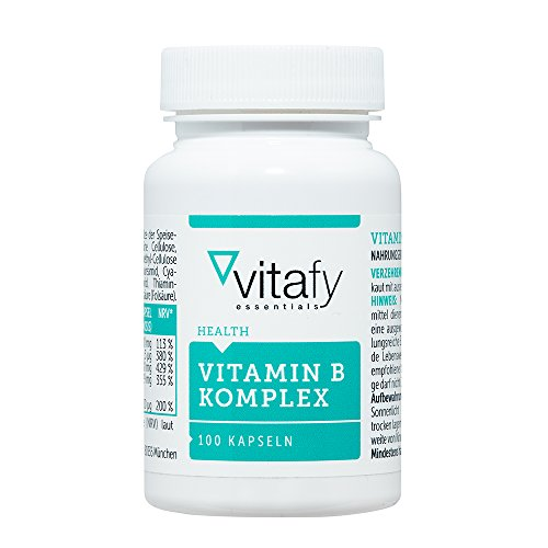 Vitafy Essentials Vitamin B Komplex (100 Kapseln)