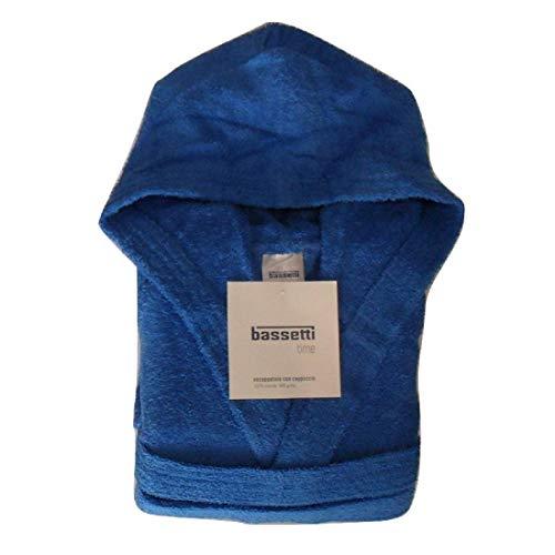 Bassetti accappatoio, blu, small