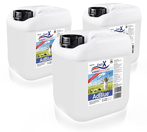 ADBLUE® 3 x 5 Liter HARNSTOFFLÖSUNG SCR ABGASREINIGUNG DIESEL
