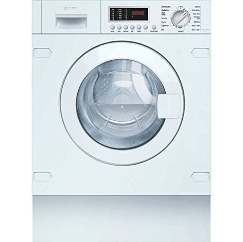 Neff V6540X1GB Integrated 7Kg / 4Kg Washer Dryer with 1400 rpm. Great For Medium-Sized Households