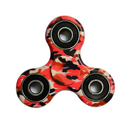 Someas EDC Fidget Camo Style Spinner High Speed Stainless Steel Bearing for Leisure Time