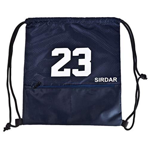 Sunlera Kordelzug Basketball Tasche wasserdichte Kugelschuhe Speicher Rucksack Outdoor Sports Travel Pouch Fußball-Bag