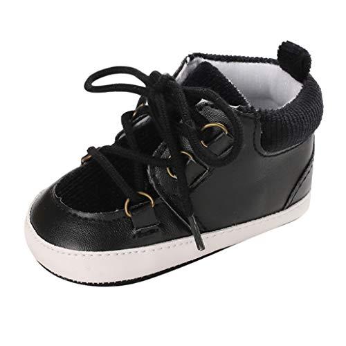 Alwayswin Kleinkindschuhe Neugeborenes Baby Warme Booties Mädchen Jungen Plüsch Lauflernschuhe Bequem Winter Schuhe Mode Freizeitschuhe rutschfest Kurze Stiefel Babyschuhe Lederschuhe -