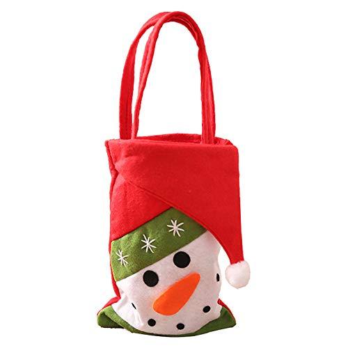 che, Aufbewahrungstasche für Geschenke, Geschenke, Kinder-Partytüten, Süßigkeitentüten, Weihnachtsdekoration, 33*11cm ()