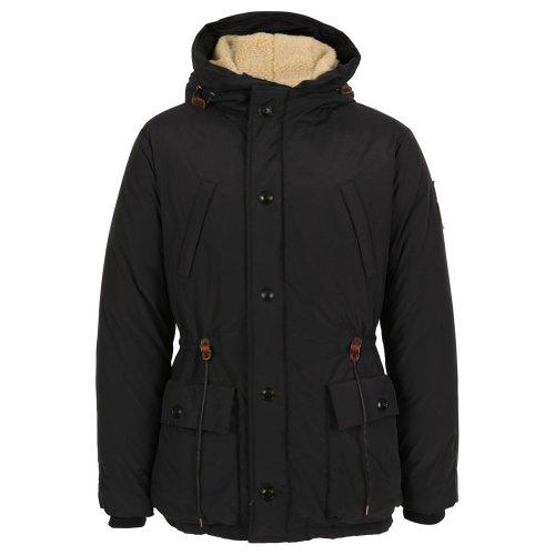 Scotch & Soda Long Outdoor Hooded Coat, Navy Navy