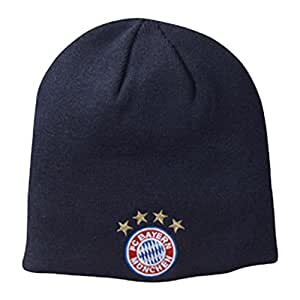 FC Bayern Mütze Wendemütze Strickmütze one size Erw. Fanartikel