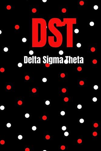 DST: delta sigma theta sorority blank lined journal