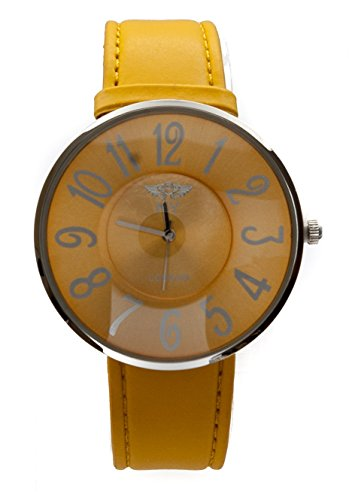 ny-london-ladies-slim-design-watch-sunshine-yellow-silver-tone-highlight-large-coloured-face-matchin