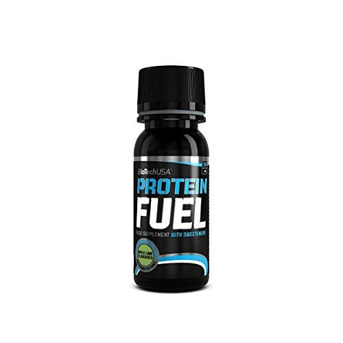 PROTEIN FUEL, liquid 50ml Kirsche 12 * 50ml - Flüssiges Protein - BiotechUSA -