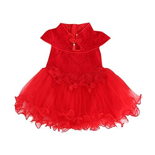 Yanhoo-Kinder Ärmellos blusen Bowknot Mode Hochzeit Dress Mädchen Gemütlich Party Oberteile Kleid