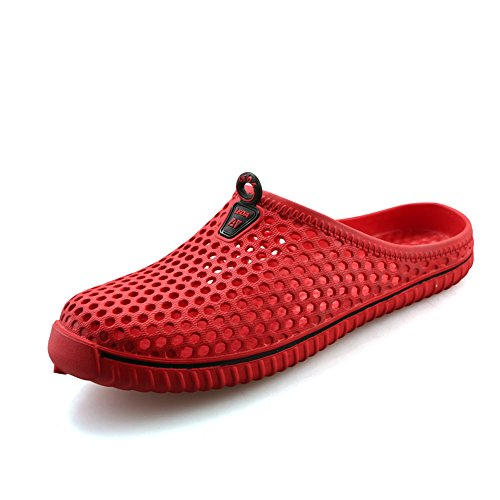 Aleader Performance, Mules pour Femme Red2233