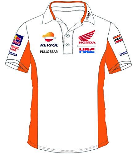 Preisvergleich Produktbild Pritelli 1818503 / XXL Honda Repsol Moto GP Teamwear Replica Polo Hemd Offizielle 2018,  Weiß