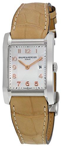baume-mercier-hampton-femme-montre-quartz-avec-cadran-argent-affichage-analogique-et-sangle-en-cuir-