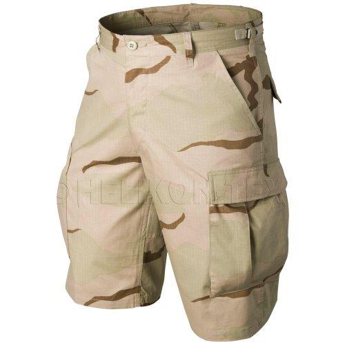 Helikon Original BDU Shorts Baumwolle Ripstop 3-Color Desert Größe L -