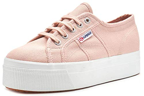 Superga Unisex 2790 Acotw Linea Up and Down Canvas Pink Skin Trainer 37.5 EU