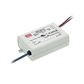 Mean Well, ändern der Stromversorgung, Converter für das Licht LED-Streifen Flexible des, 110/220V DC Switching Power Supply Trafo 35W 24V 1.5A (apv-35–24)
