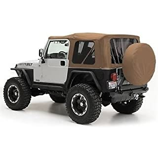 Smittybilt 9970217 Denim Spice OE Style Replacement Top with Tinted Windows for Jeep Wrangler by Smittybilt