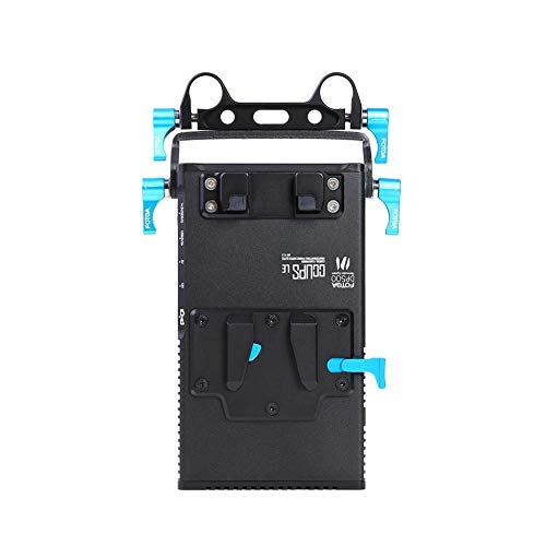Rail Mount Power Supply (YouN DP500 Mark III V Mount Battery Power Supply for 5D2/3 A7 GH4/3 BMPC US)