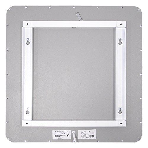 VASNER Citara M-Plus Design Infrarot-Heizung 450 Watt Metall weiß re Ecken 60x60cm Bild 4*